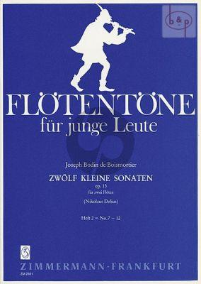 12 Kleine Sonaten Op.13 Vol.2