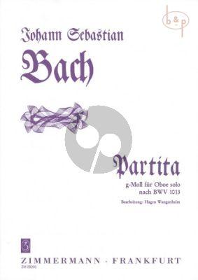 Partita g-moll nach BWV 1013 Oboe solo