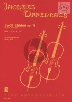12 Etuden Op.78 Vol.2