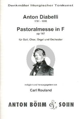 Pastoral Messe F-dur Opus 147 SATB und Orchester