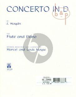 Concerto D-major Hob.VIIf:D1 for Flute-Piano