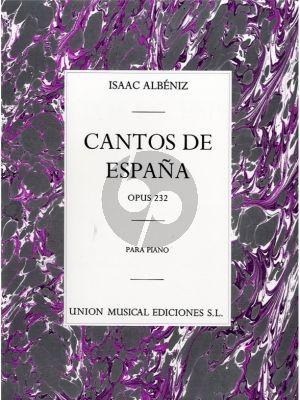 Albeniz Cantos de España Op.232 Piano