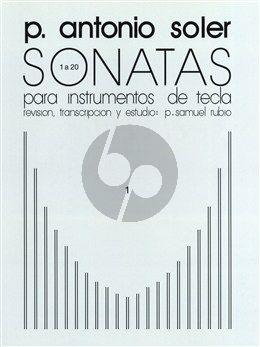 Soler Sonatas Vol.1 (No.1-20) Harpsichord (ed. P.Samuel Rubio)