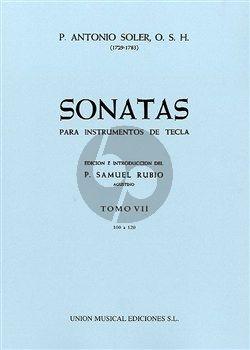 Soler Sonatas Vol.7 (No.100-120) Harpsichord (ed. P.Samuel Rubio)