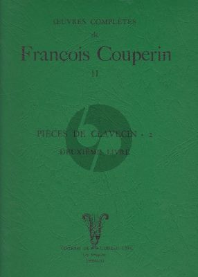 Couperin Pieces de Clavecin Vol.1 (Maurice Cauchie - Kenneth Gilbert) (L'Oiseau Lyre)