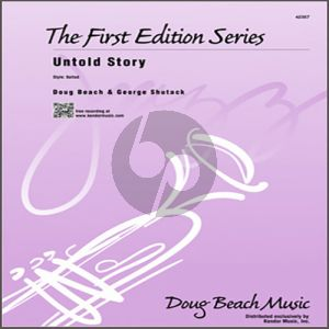 Untold Story - 2nd Bb Tenor Saxophone