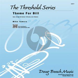 Theme For Bill - 1st Trombone