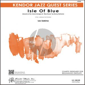 """Isle Of Blue (based on the chord changes to """"Blue Bossa"""") - 1st Trombone"""