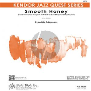 """Smooth Honey (based on the chord changes to """"Satin Doll"""") - 2nd Eb Alto Saxophone"""