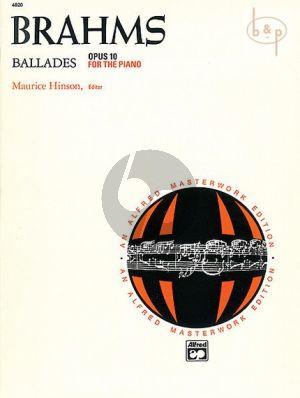 Ballades Op.10