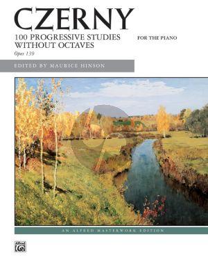 Czerny 100 Progressive Studies Op.139 Piano Maurice Hinson