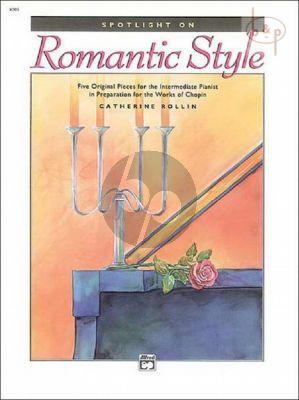 Spotlight on Romantic Style Piano solo