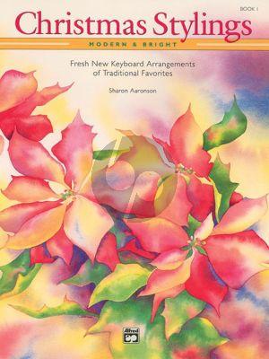 Aaronson Christmas Stylings-Modern & Bright Vol.1 (Intermediate-Late Intermediate Level)
