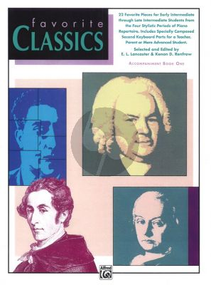 Favorite Classics Vol.1 Accomp. Book