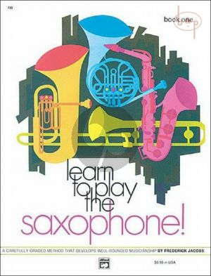 Learn to Play Saxophone Vol.1