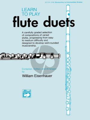 Eisenhauer Learn to Play Flute Duets