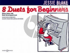 8 Duets for Beginners Piano 4 Hds.