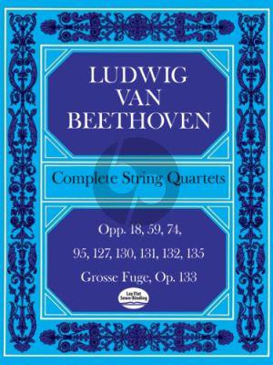 Complete String Quartets Score (Dover)