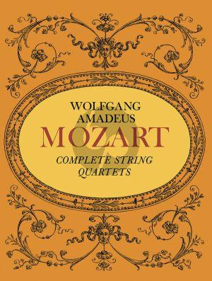 Mozart Complete String Quartets Score (Dover)