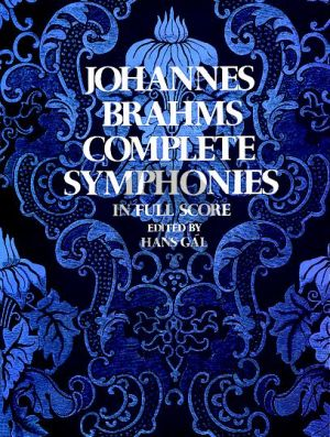 Brahms Complete Symphonies Full Score (Dover)