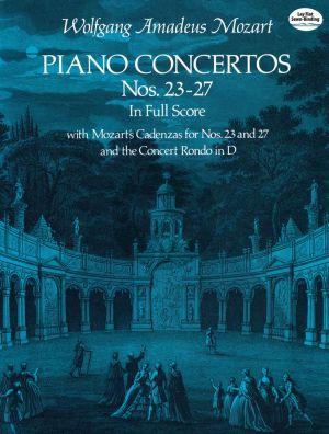Piano Concertos No. 23 - 27 Piano and Orchestra