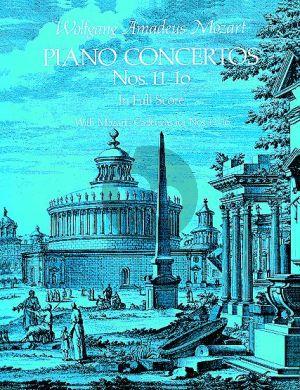Mozart Concertos Nos.11-16 Piano-Orch. Full Score