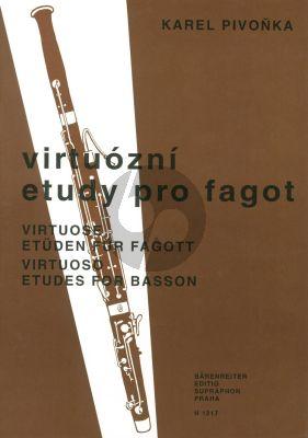Pivonka Virtuose Etuden Fagott