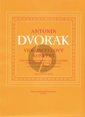 Concerto B-minor Op. 104 Violoncello-Orchestra