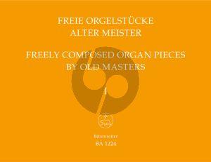 Album Freie Orgelstucke alter Meister Vol.1 (37 Präludien, Fugen, Fantasien und Toccaten in der Reihenfolge der Tonarten. Viele Kompositionen manualiter) (Herausgegeben von Adolf Graf)