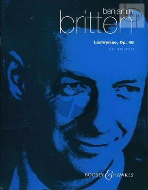 Britten Lachrymae Op.48 Viola and Piano (Reflections on a Song of Dowland) (Primrose)