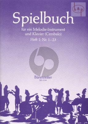 Spielbuch fur ein Melodieinstrument und Klavier Vol.1
