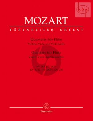 Quartets KV 285 - 285a-Anh.171[285b]- 298 (Flute-Vi.-Va.-Vc.) (Parts)