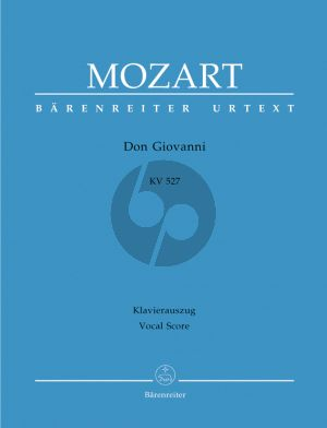Mozart Don Giovanni KV 527 (Vocal Score) (ital./germ.) (Barenreiter-Urtext) (Paperback)