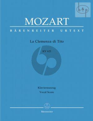 Mozart La Clemenza di Tito KV 621 Vocal Score (edited by Franz Giegling) (ital./germ.)