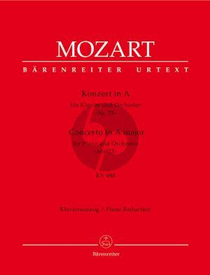 Mozart Konzert KV 488 A-dur No.23 Ausgabe 2 Klaviere (Herausgegeben von Hermann Beck) (Urtext der Neuen Mozart-Ausgabe - Barenreiter)