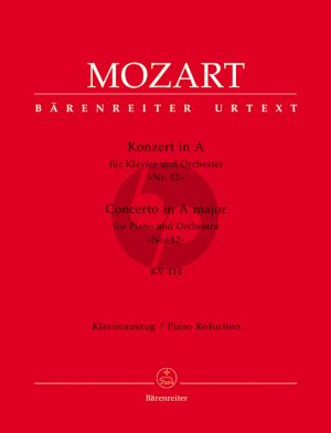 Mozart Concerto A-major KV 414 (No.12) (Piano-Orch.) (piano red.)