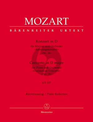 Mozart Concerto D-major KV 537 (No.26) (Krönungskonzert) 2 piano's