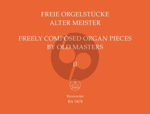 Album Freie Orgelstucke alter Meister Vol.2 (Herausgegeben von Adolf Graf)