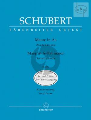 Messe As-dur D.678 (Vocal Score)