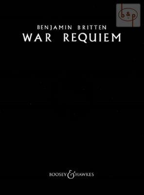 War Requiem Op. 66 Vocal Score