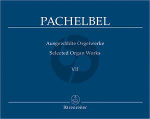 Pachelbel Ausgewahlte Orgelwerke Vol.7 Magnificatfugen Teil 1 (Hewrausgegeben von Tamas Zaszkaliczky)
