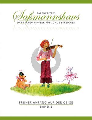 Sassmannshaus Fruher Anfang auf der Geige Vol.1 (dt.)