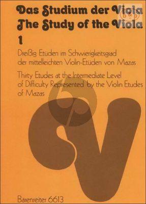 Das Studium der Viola Vol.1