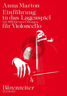 Marton Einfuhrung in das Lagenspiel Violoncello (mit 125 kleinen Ubungen)