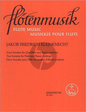 2 Sonatas Flute-Bc