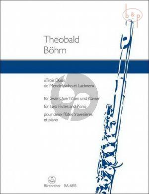 3 Duos de Mendelssohn et Lachner