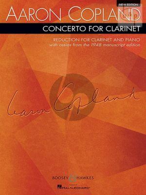 Copland Concerto Clarinet-Orchestra (piano red.)