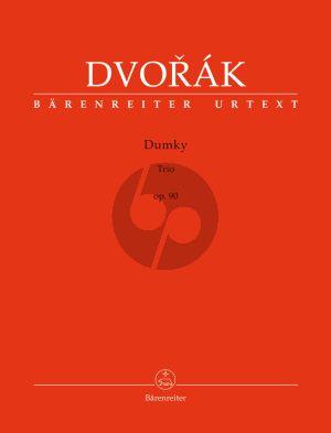 Dvorak  Dumky Trio Op.90 (Score/Parts)