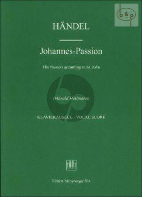Johannes-Passion (Soli-Chor-Orch.) (Vocal Score)