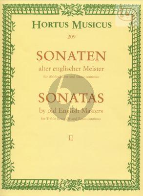 Sonaten alter Englischer Meister Vol.2